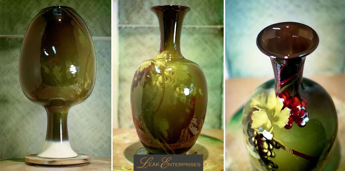 weller vase restoration